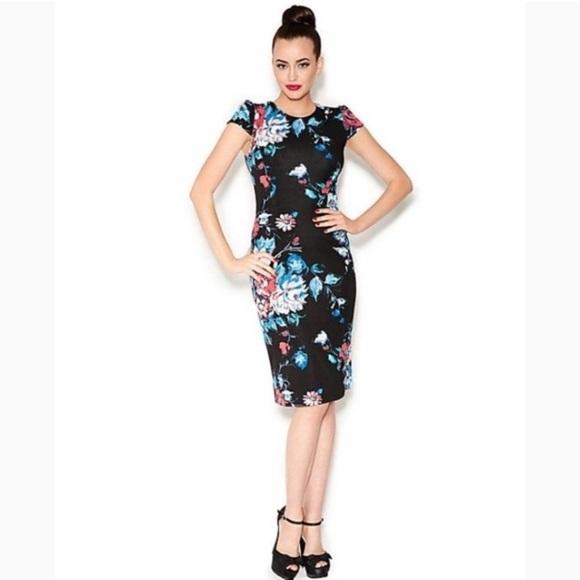 Betsey Johnson Dresses & Skirts - Betsey Johnson Floral Zip Dress